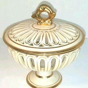 Antique Koscherak Brothers KBNY Porcelain Nut Bowl